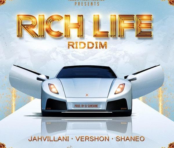 'Rich Life' Riddim Prod Yellow MoonRecords