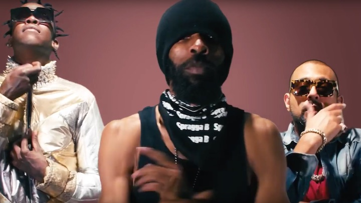 Spragga Benz ft. Sean Paul, Agent Sasco and Chi Ching Ching- 'Differ(Remix)'