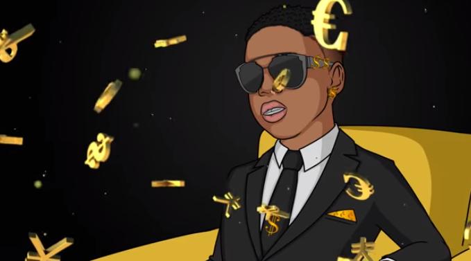 Likkle Addi- 'Dollar Sign'- LyricVideo