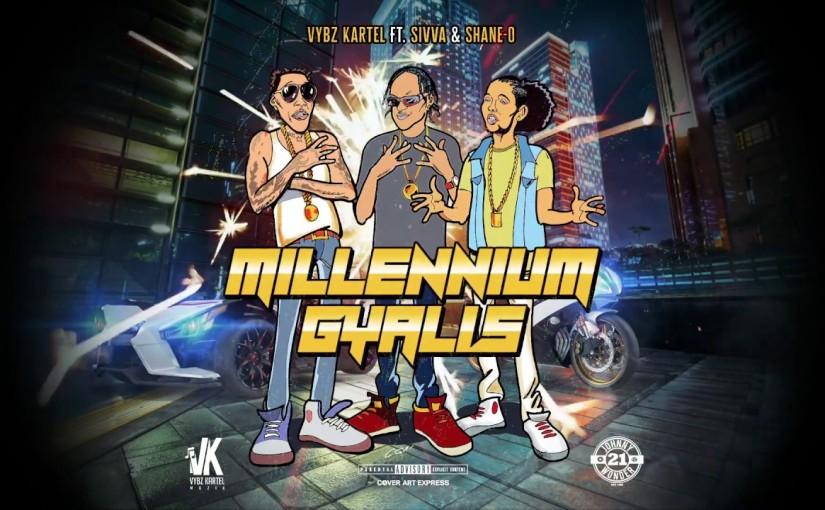 Vybz Kartel ft. Shawn Storm, Shane O- 'Millennium Gallis'