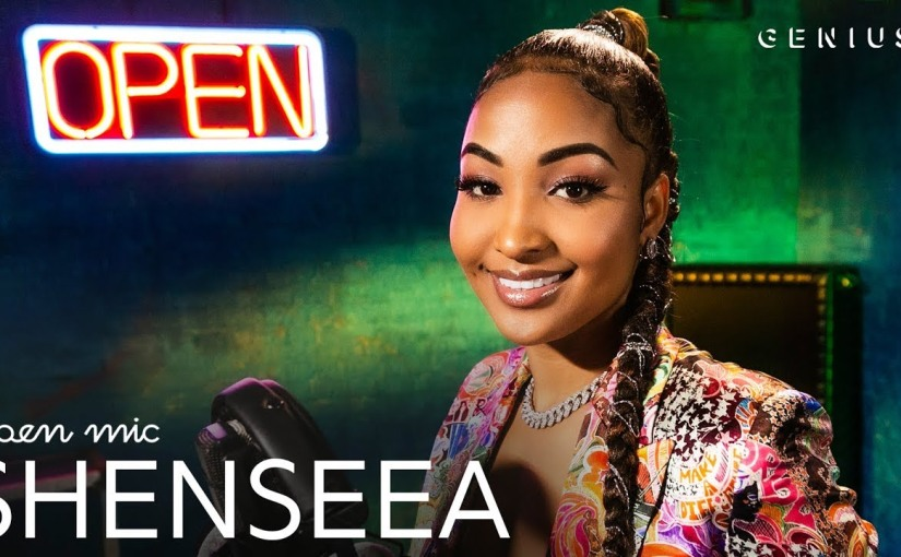 Shenseea- 'Blessed'- Live Performance- Open Mic- Genius